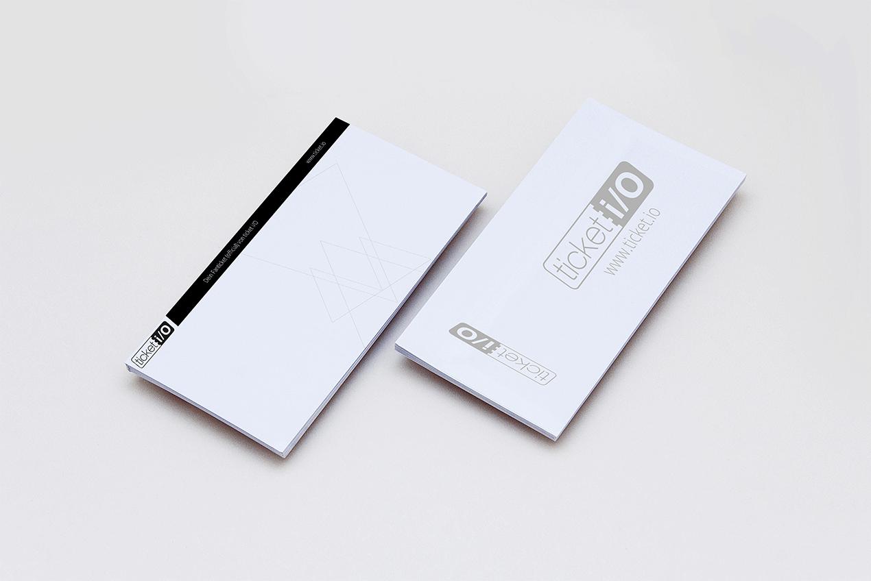 _design. Layout-Vorlage von Tickets für Ticket i/O GbR